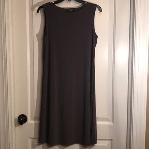 Olive green knee length dress
